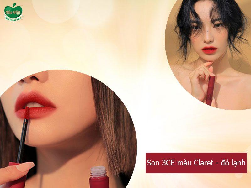 Son 3CE Blurring Liquid Lip Stick Claret