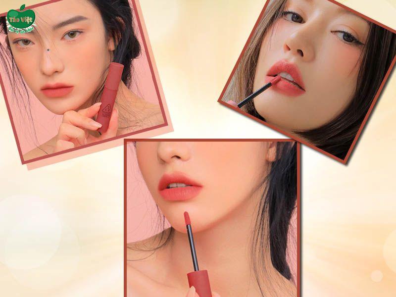 Son 3CE Blurring Liquid Lip Stick Delicate Soul