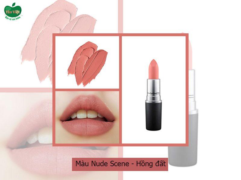 Son 3CE Blurring Liquid Lip Stick Nude Scene