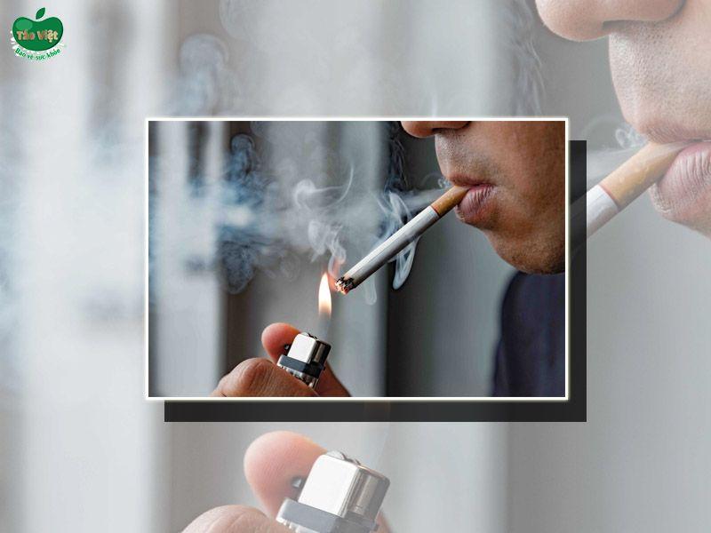 Tránh hút thuốc