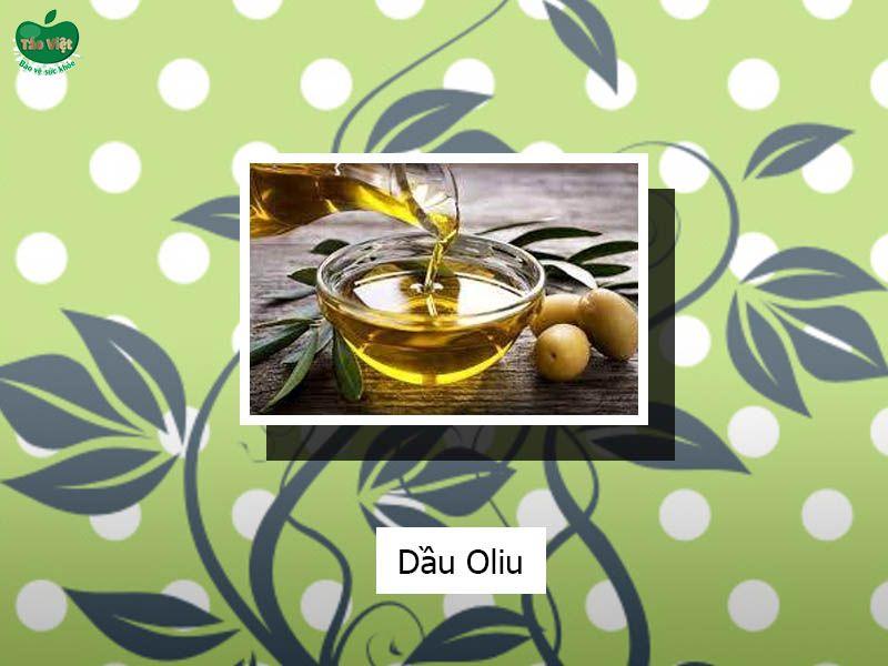 Dùng dầu oliu trị sẹo thâm ở chân