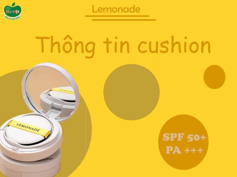 Thông tin phấn nước đơn Lemonade