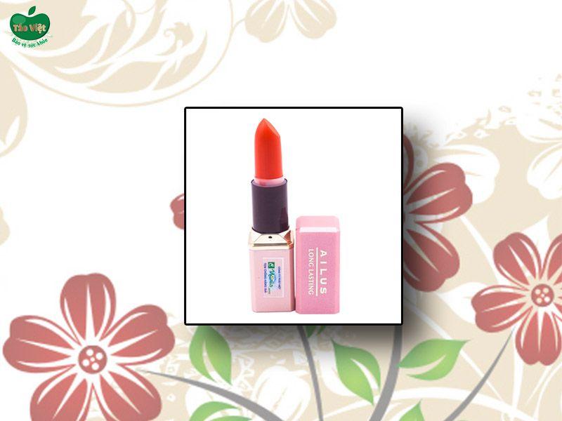 Son lì mịn môi lâu trôi Naris Cosmetic Ailus Smooth Lipstick Long Lasting