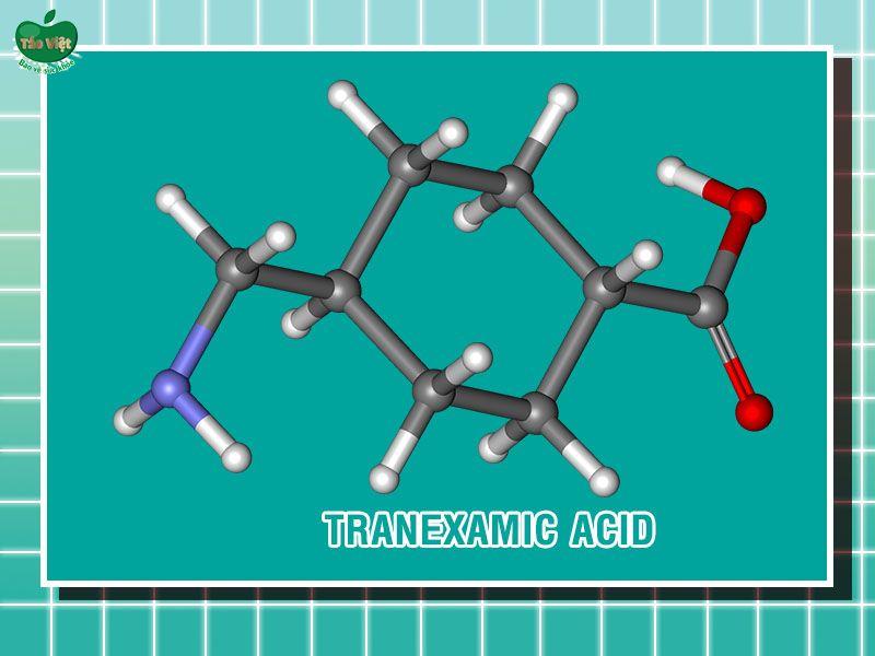 Cấu trúc hóa học của Tranexamic acid