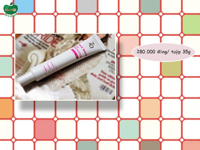 Giá của kem lót chống nắng Za True White Day Protector 26+ PA++