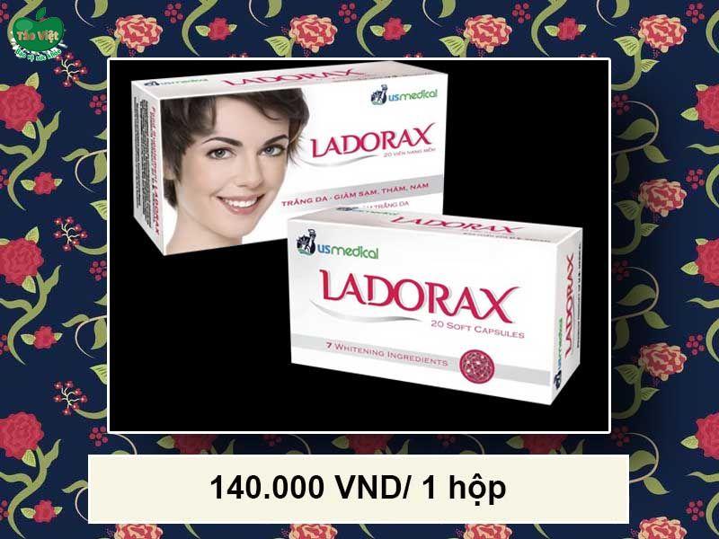 Viên uống trắng da Ladorax giá bao nhiêu?