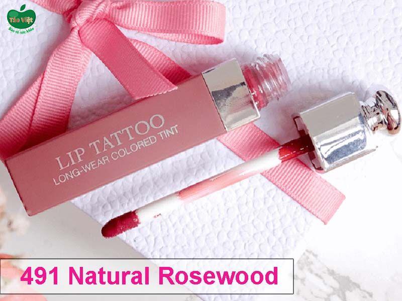 Son Dior Addict Lip Tattoo Màu 491 Natural Rosewood
