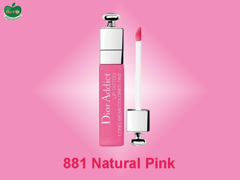 Son Dior Addict Lip Tattoo Màu 881 Natural Pink
