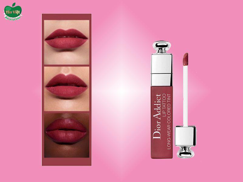 Son Dior Addict Lip Tattoo Màu 771 Natural Berry Tint