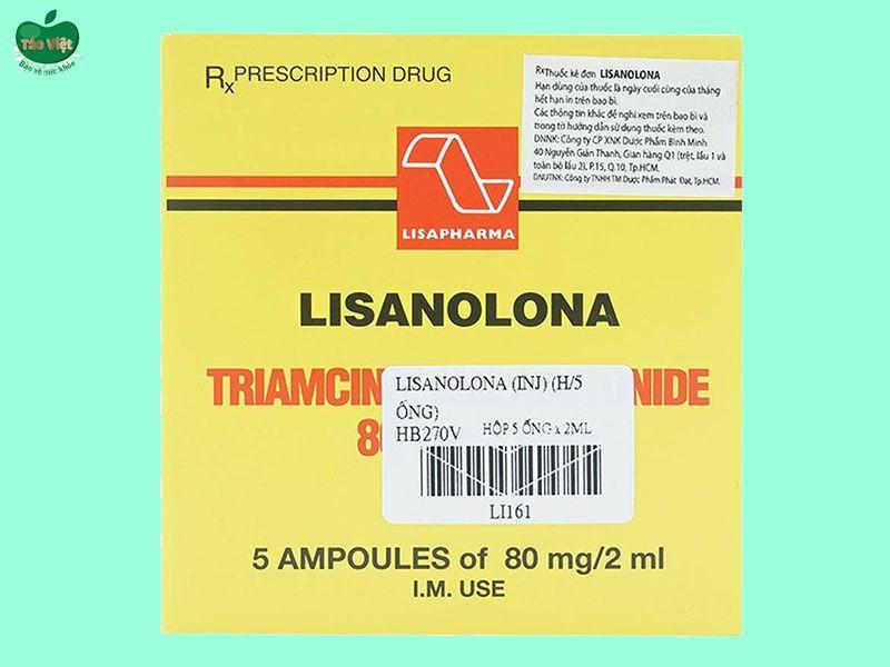 Hộp thuốc Lisanolona