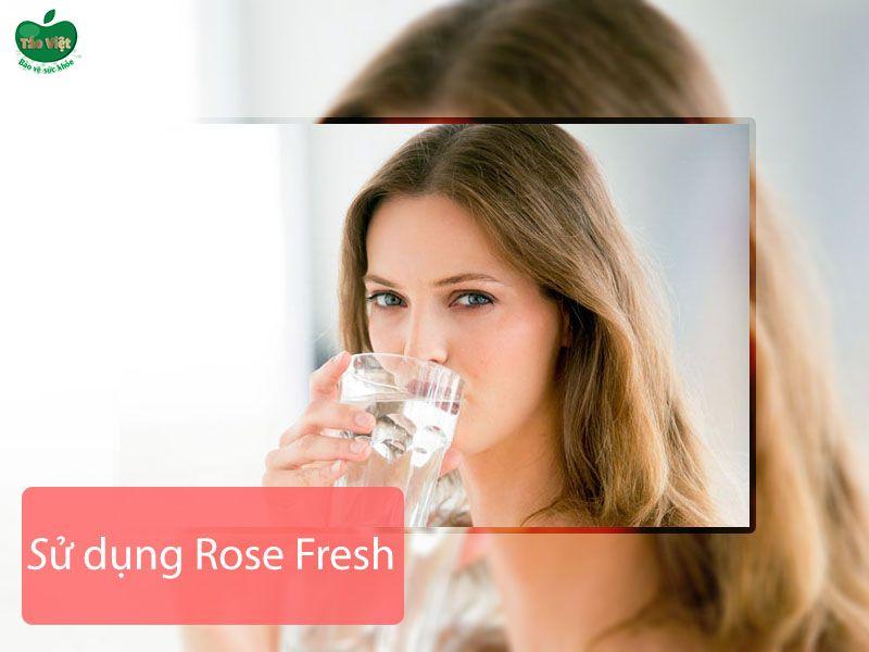 Cách sử dụng thuốc trị mụn Rose Fresh