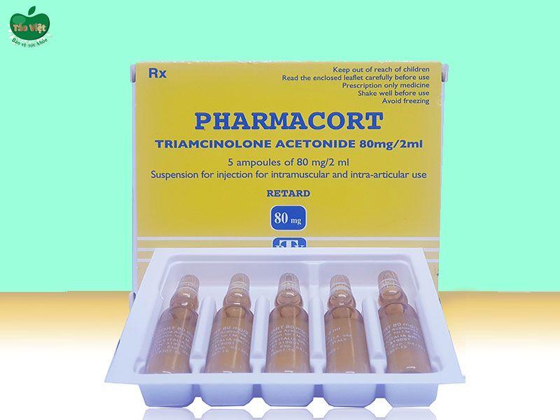 Tác dụng phụ của thuốc Pharmacort