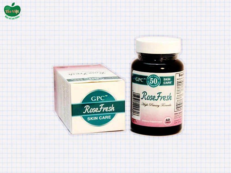 Rose Fresh hàng thật là sản phẩm được sản xuất và đóng gói tại Mỹ