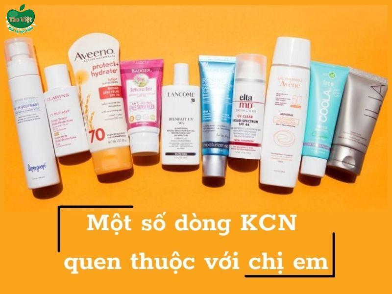 Một số dòng KCN quen thuộc