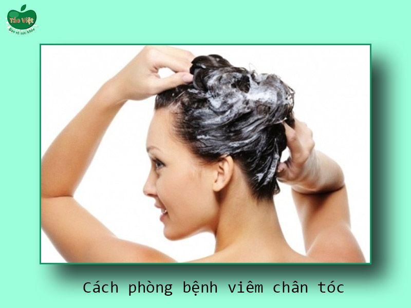 Cách phòng ngừa bệnh viêm chân tóc