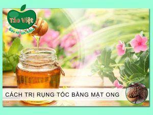 Cách trị rụng tóc bằng mật ong