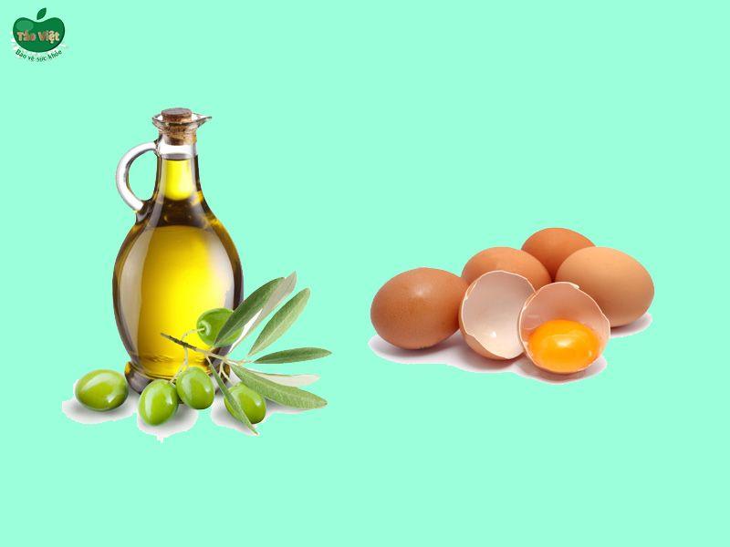 Bài thuốc chữa hói đầu hiệu quả từ dầu oliu và trứng gà