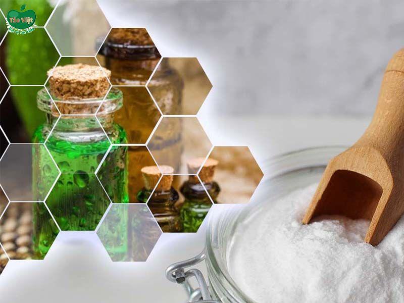 Công thức trị gàu từ baking soda và dầu cây trà