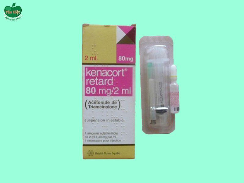 Thuốc Kenacort Retard 80mg/2ml