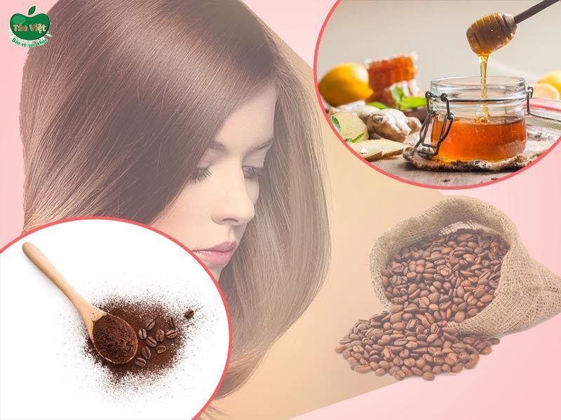 Cách nhuộm tóc bằng cà phê và mật ong