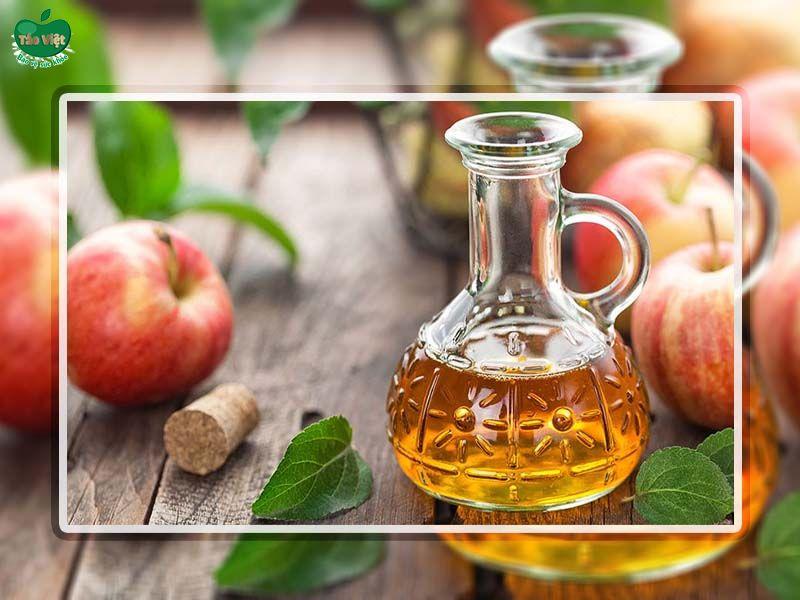Sử dụng giấm táo trị nấm da đầu hiệu quả