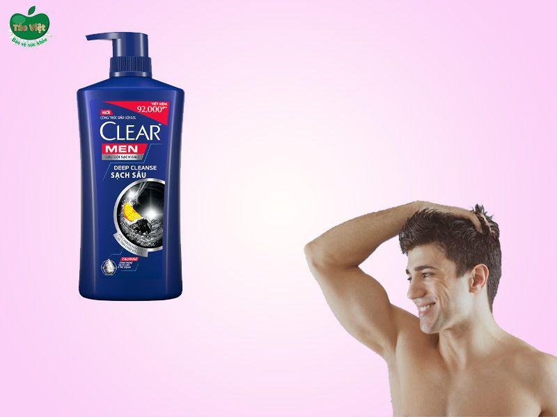 Dầu gội Clear Men Deep Cleanse sạch sâu