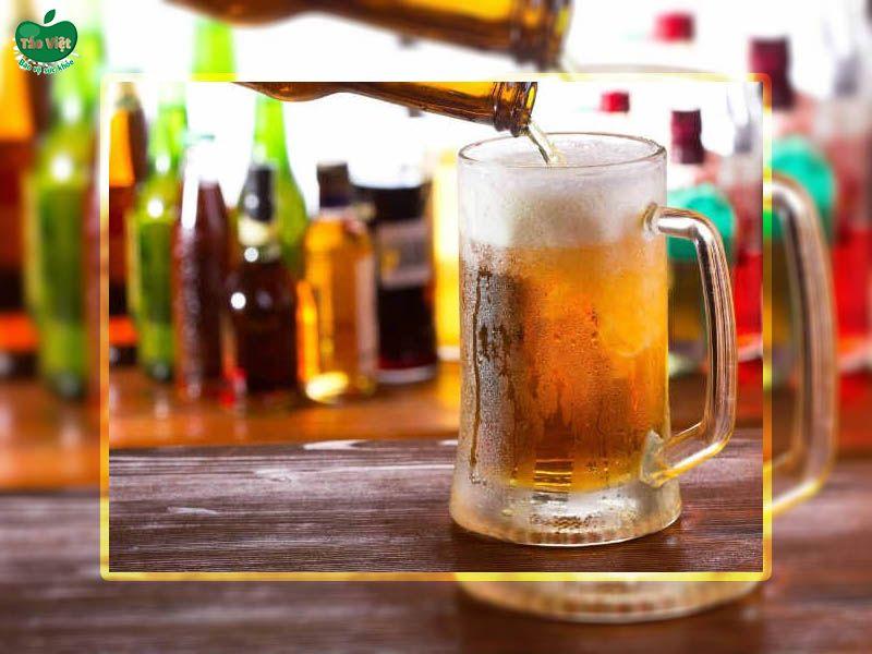 Trị nấm da đầu bằng bia