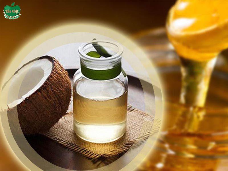 Trị rụng tóc bằng mật ong và dầu dừa