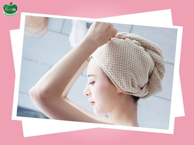 Ủ tóc bằng nước vỏ bưởi trị rụng tóc