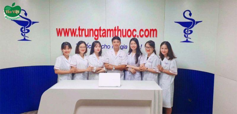 Đội ngũ dược sĩ Trung Tâm Thuốc Central Pharmacy
