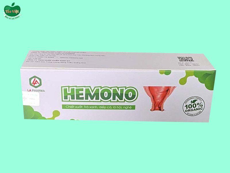 Gel bôi trĩ Hemono Gel